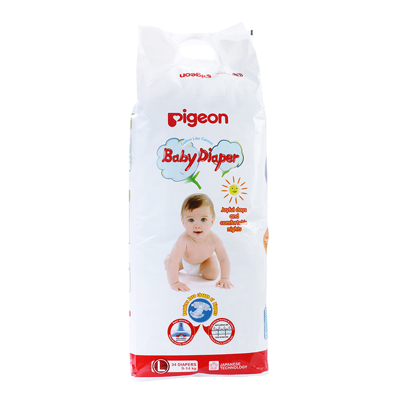 Pigeon Baby Diaper Large Size